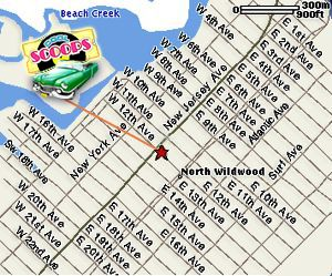 MapQuest Maps North Wildwood NJ